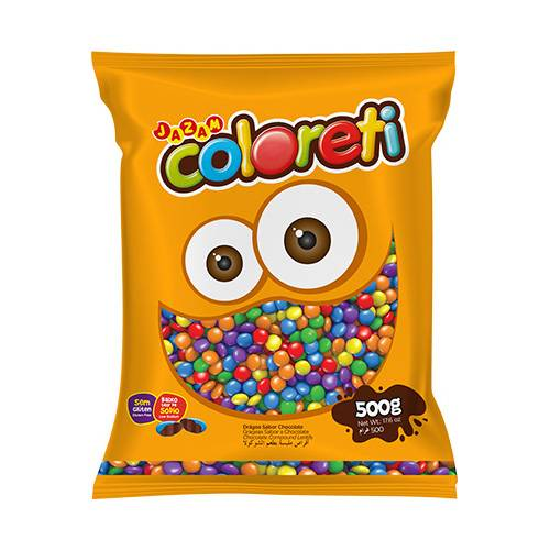 Coloreti Mini 500g - Jazam Alimentos