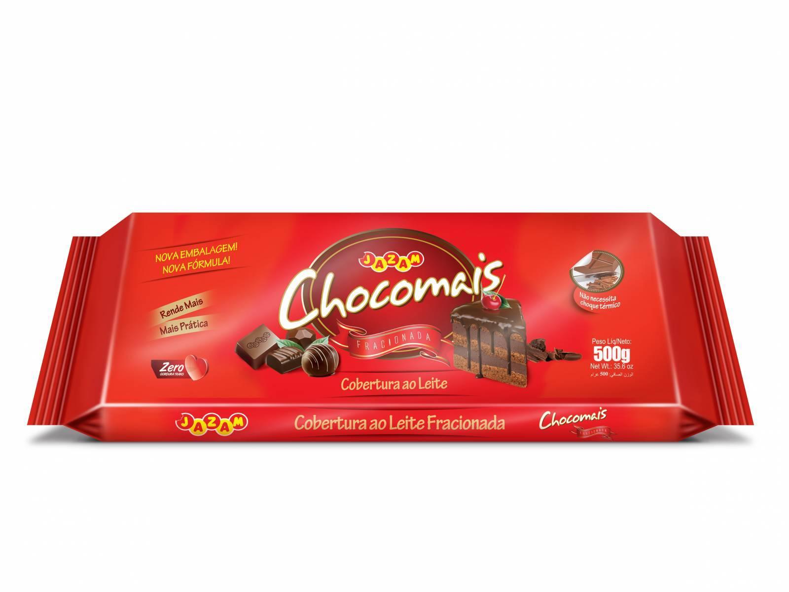 Chocomais ao Leite 500g - Jazam Alimentos