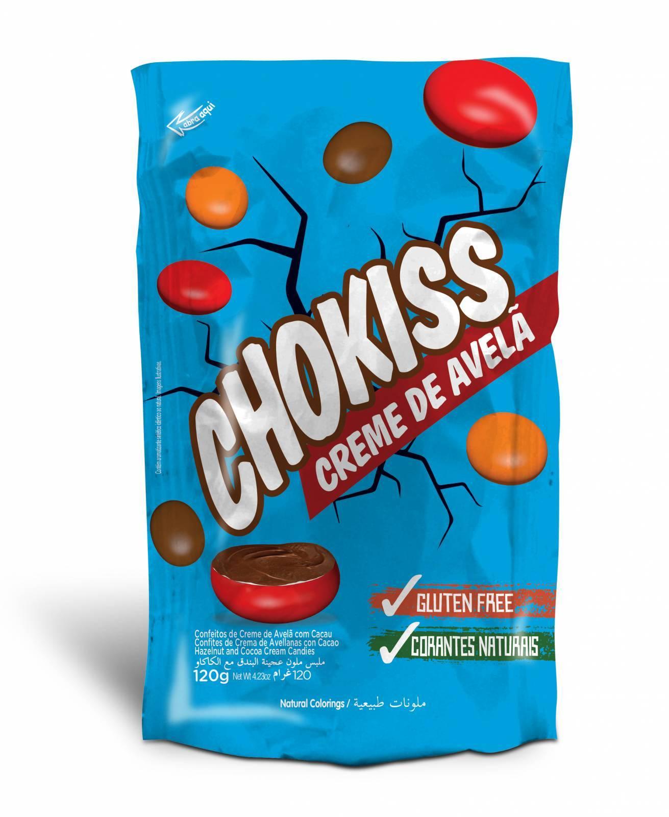 Chokiss Creme de Avelã 120g. - Jazam Alimentos