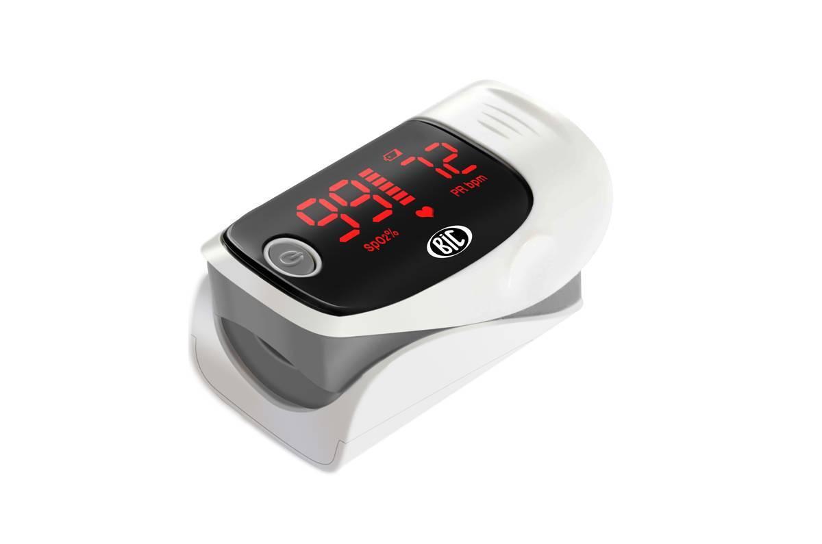 Oxímetro de Pulso Portátil Adulto (Tipo Dedo) YK-80A – BIC - Soft Care Produtos Médicos