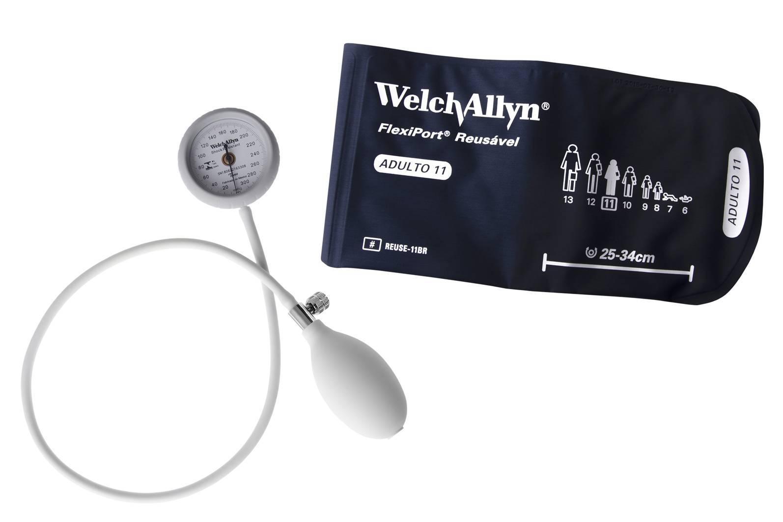 Aparelho de pressão Welch Allyn Durashock Flexiport - Soft Care Produtos Médicos
