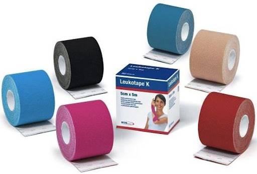 Bandagem Elástica Leukotape K - Soft Care Produtos Médicos
