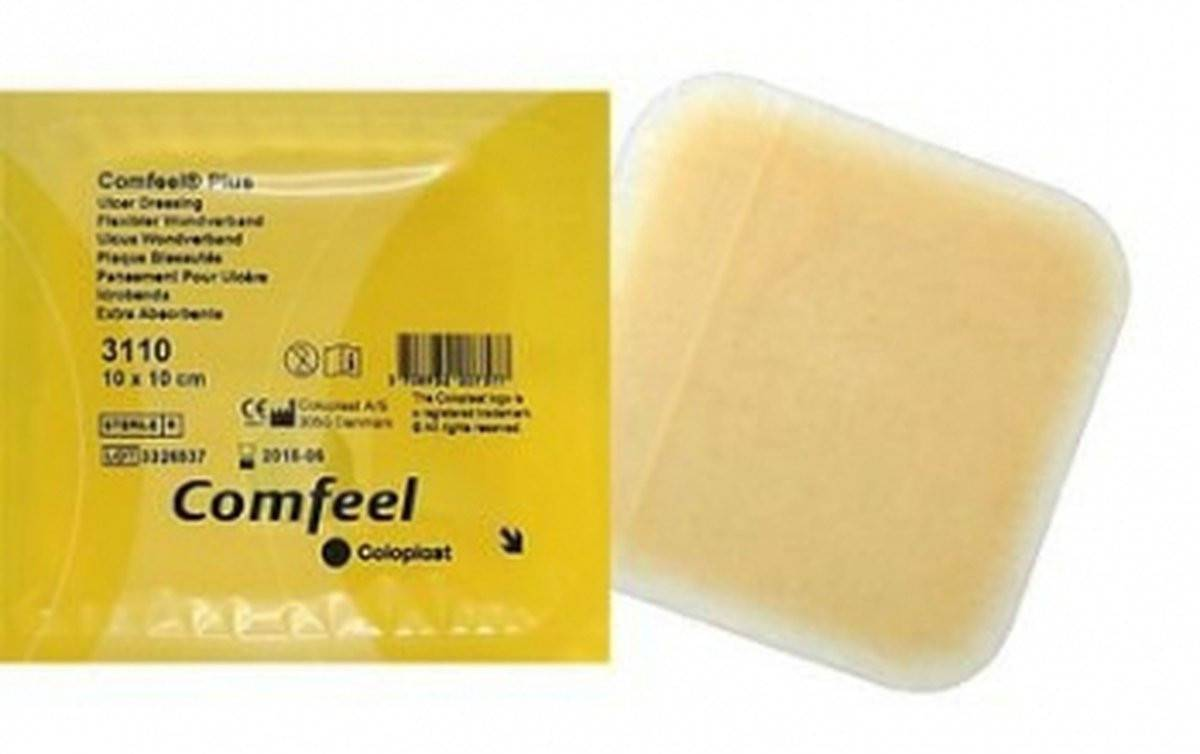 Comfeel Plus Hidrocoloide  - Soft Care Produtos Médicos