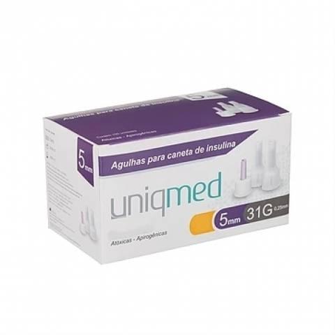 Agulha para Caneta de Insulina CX C/100 UNIQMED - Soft Care Produtos Médicos