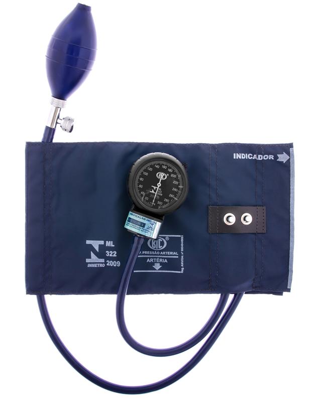 Aparelho de Pressão Adulto Nylon Metal BIC  - Soft Care Produtos Médicos