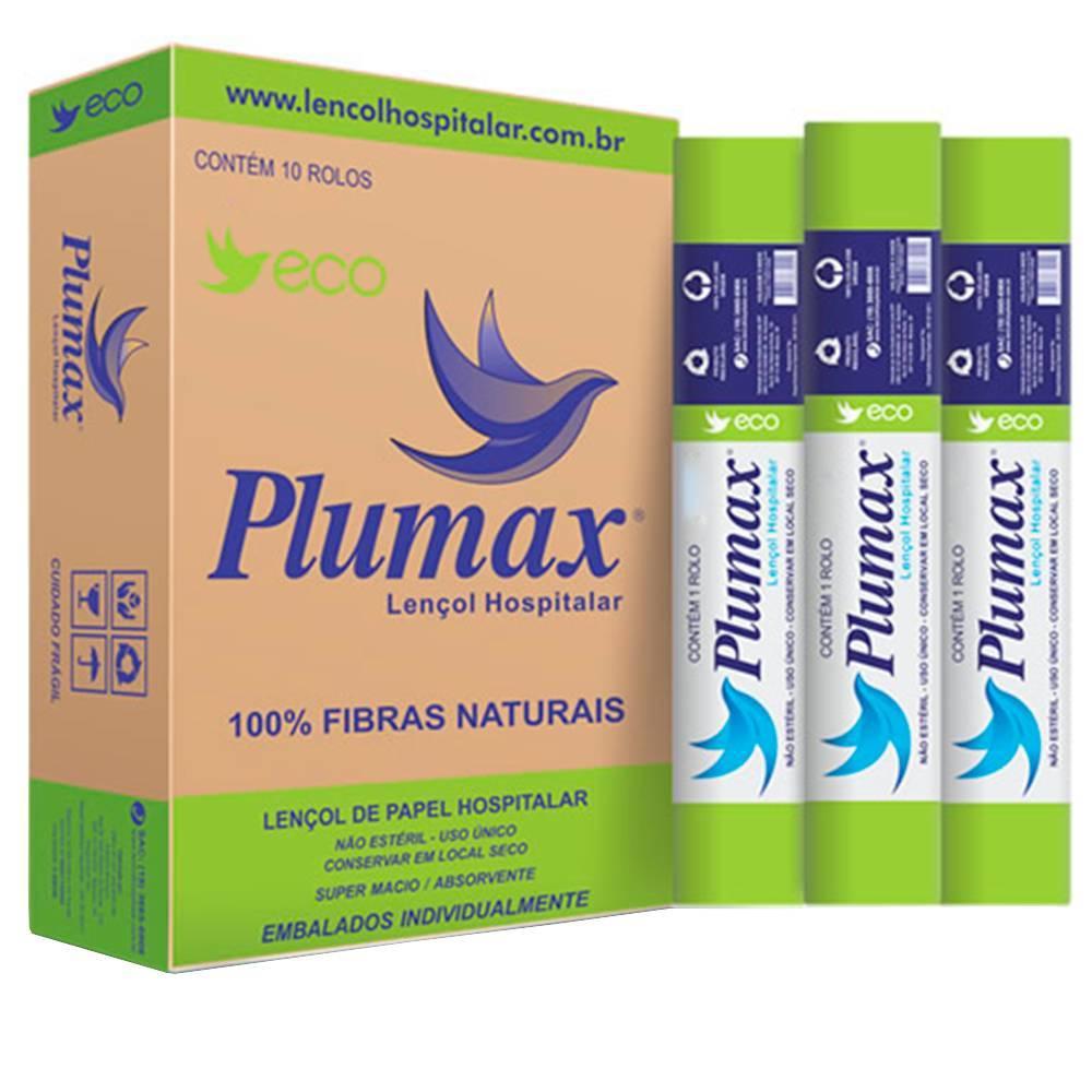 Papel Lençol Descartável Eco Plumax - Soft Care Produtos Médicos