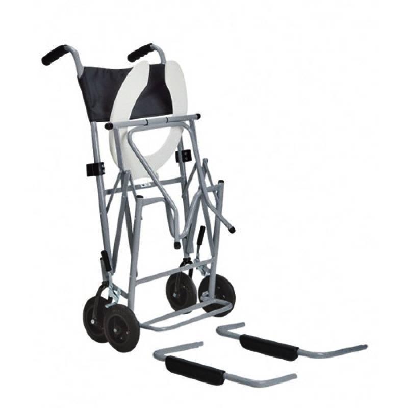 Cadeira de Banho dobrável em Aço BD Jaguaribe - Soft Care Produtos Médicos