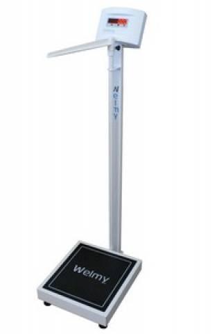 Balança Antropométrica Digital WELMY W200A LED - Soft Care Produtos Médicos