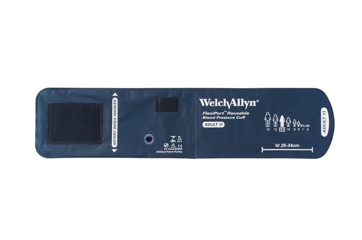 Braçadeira Adulto 11 FlexiPort Welch Allyn - Soft Care Produtos Médicos