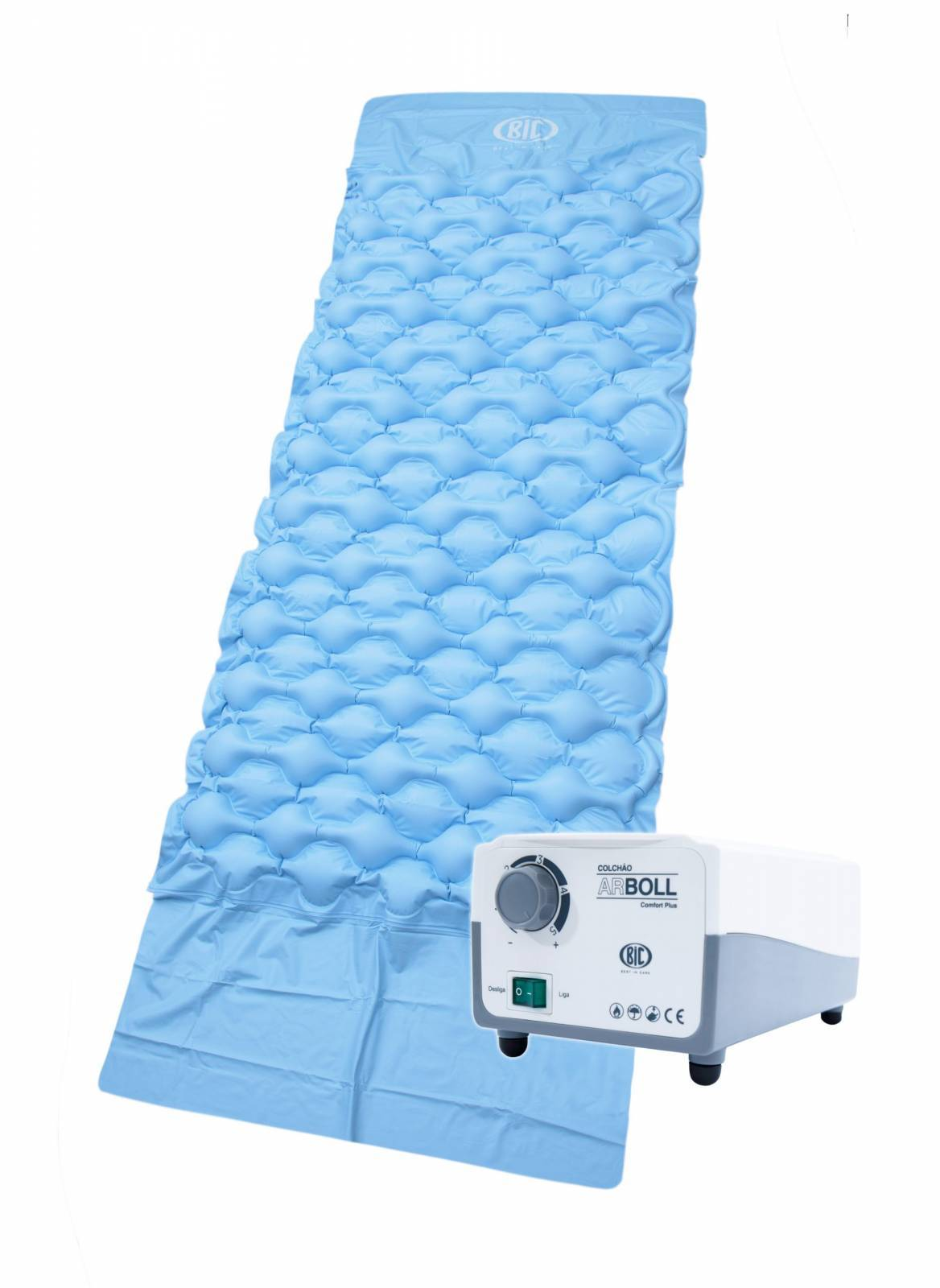 Colchão Inflável Pressão Alternada Arboll Confort Plus - Soft Care Produtos Médicos