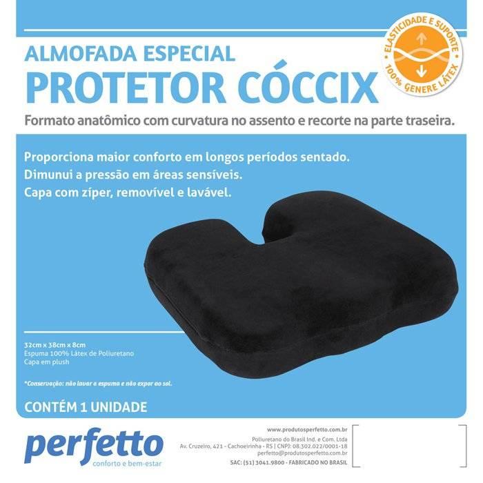 Almofada Protetor Cóccix Genera Latex - Soft Care Produtos Médicos