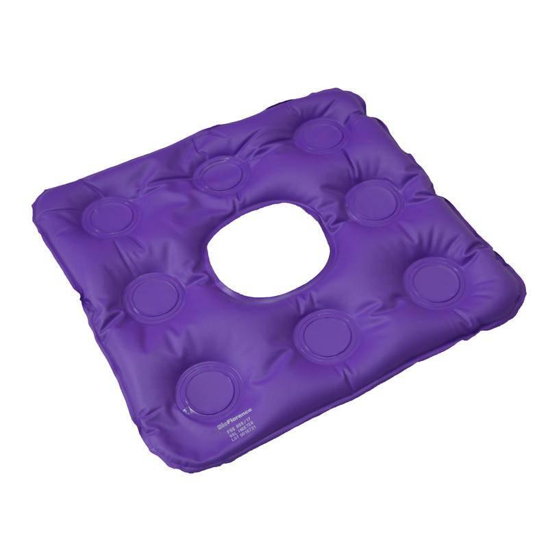 Almofada Inflável Quadrada Caixa de Ovo com Orifício   - Soft Care Produtos Médicos