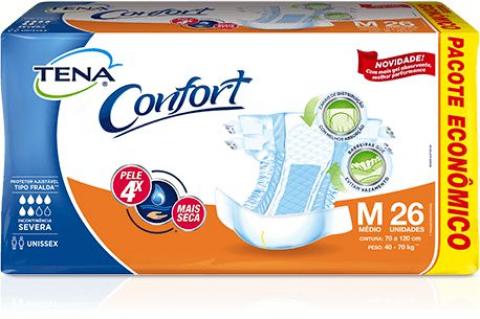 Fralda Tena Comfort  - Soft Care Produtos Médicos