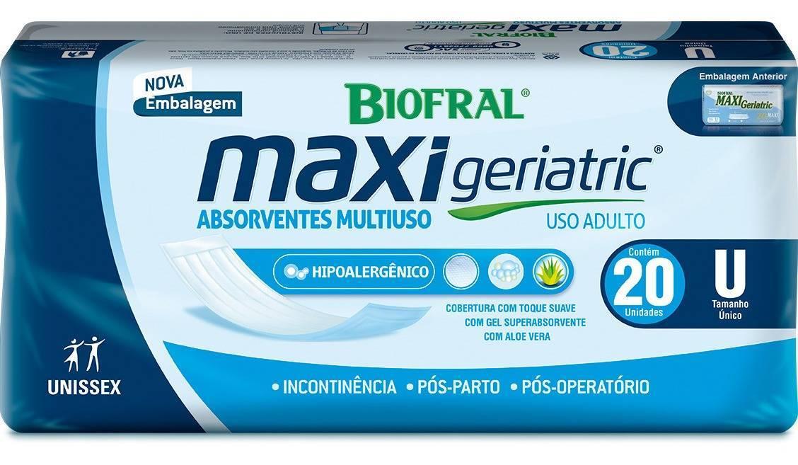 Absorvente Geriátrico c/20 Maxi Geriatric Tena - Soft Care Produtos Médicos