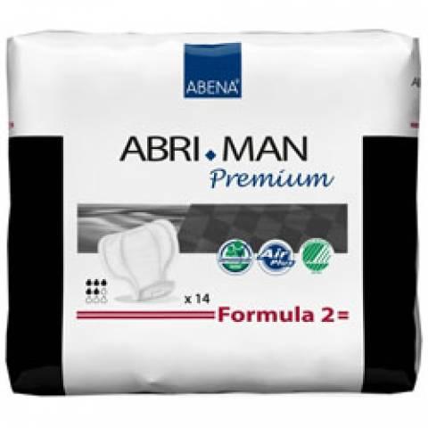 Absorvente Masculino Abri-Man Form  M2  ABENA com 14und - Soft Care Produtos Médicos