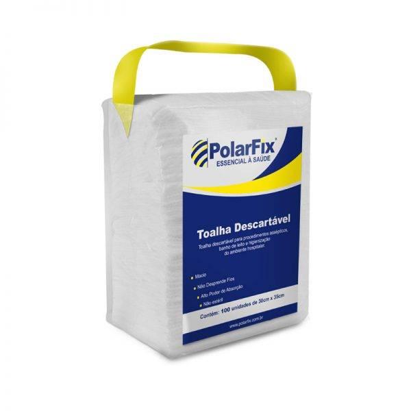 Toalha para Banho 30 x 35cm com 100 und POLAR FIX - Soft Care Produtos Médicos