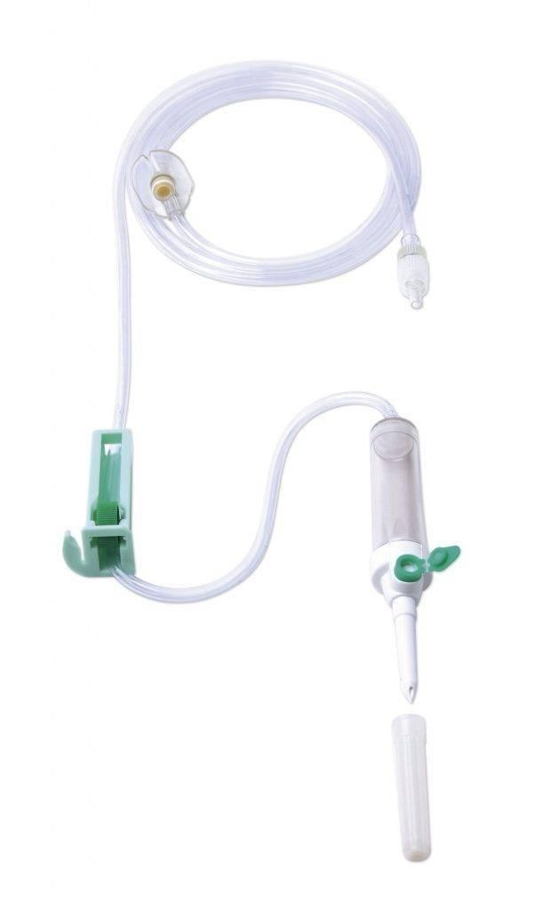Equipo Macro Gotas com Injetor Lateral e Filtro de Ar EMBRAMED - Soft Care Produtos Médicos