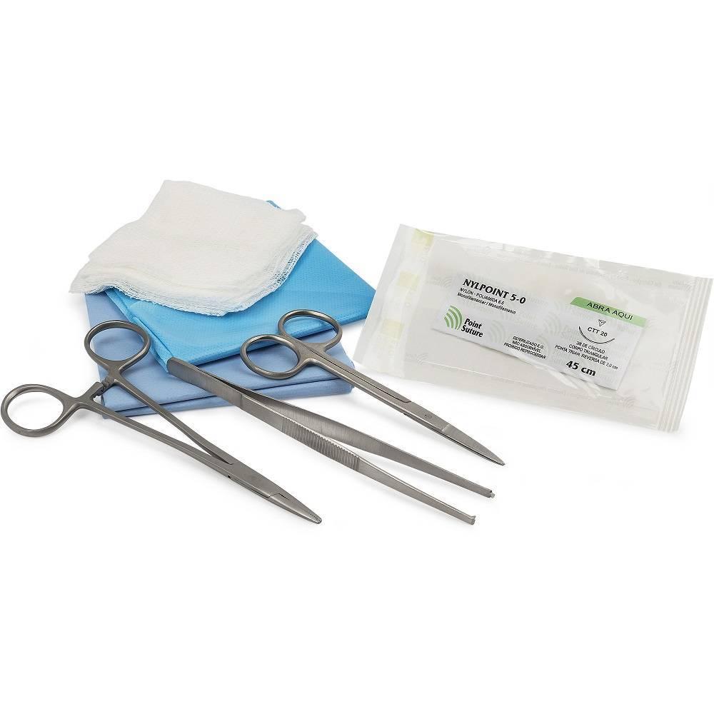 Kit Descartável Sutura EstérilKOLPLAST - Soft Care Produtos Médicos