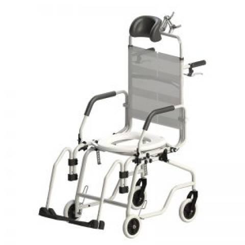 Cadeira de Banho Alumínio Reclinável Jaguaribe - Soft Care Produtos Médicos