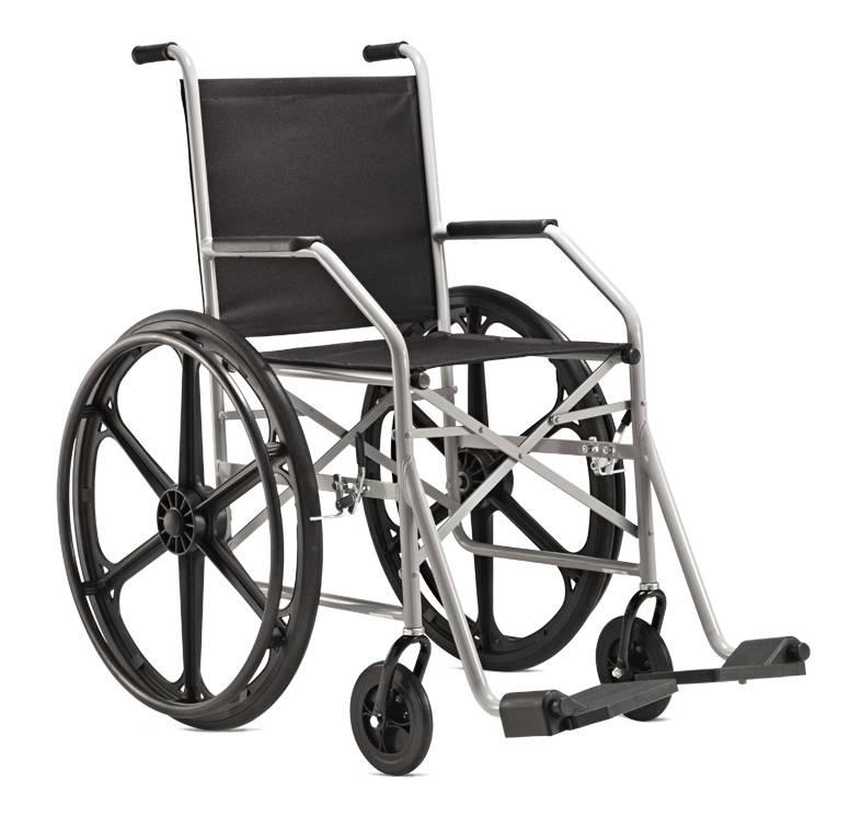 Cadeira de Rodas Aço 1009 Jaguaribe  - Soft Care Produtos Médicos