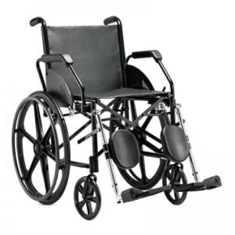 Cadeira de Rodas Aço 1016 Jaguaribe  - Soft Care Produtos Médicos