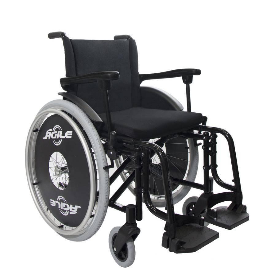 Cadeira de Rodas Alumínio Ágile Jaguaribe  - Soft Care Produtos Médicos