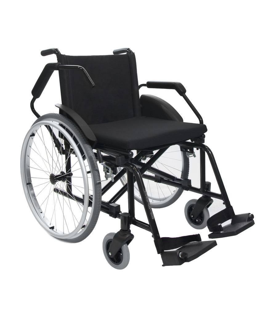 Cadeira de Rodas Aço Poty Jaguaribe  - Soft Care Produtos Médicos