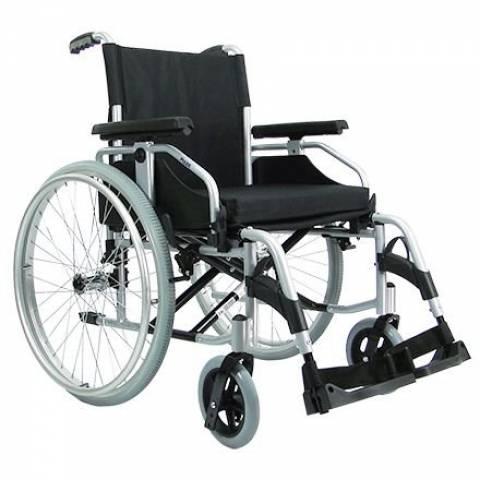 Cadeira de Rodas Aço Serie Europa - Munique  PRAXIS  - Soft Care Produtos Médicos