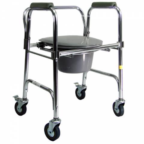 Cadeira de Banho Alumínio Praxis A-CMF302-W - Soft Care Produtos Médicos