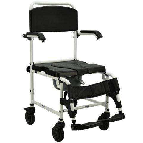 Cadeira de Banho Alumínio Praxis JL6927L - Soft Care Produtos Médicos