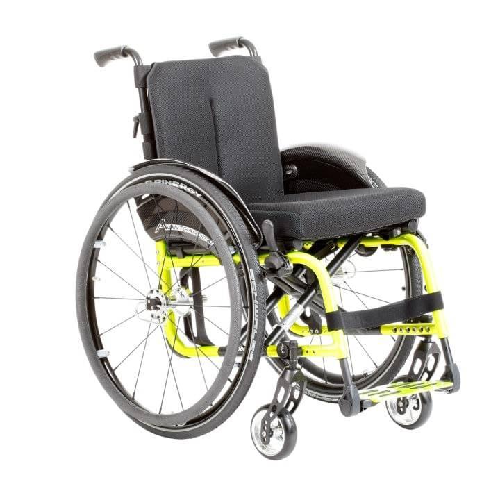 Cadeira de  Rodas Alumínio Avantgard Ottobock - Soft Care Produtos Médicos