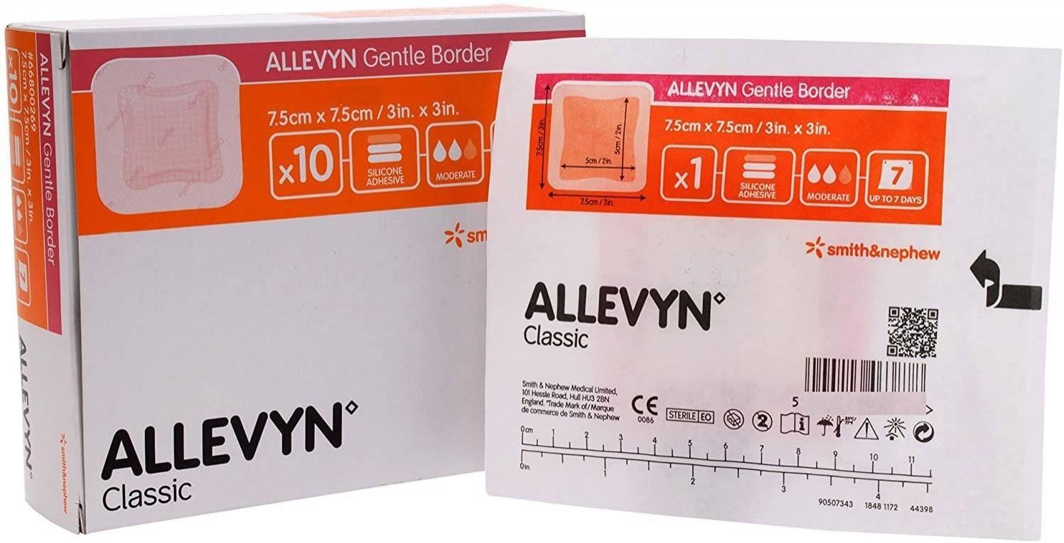 Allevyn Gentle Border - Soft Care Produtos Médicos
