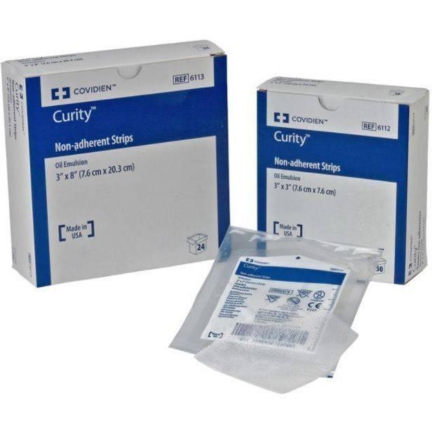 Curity Gaze Não Aderente com Petrolatum  - Soft Care Produtos Médicos