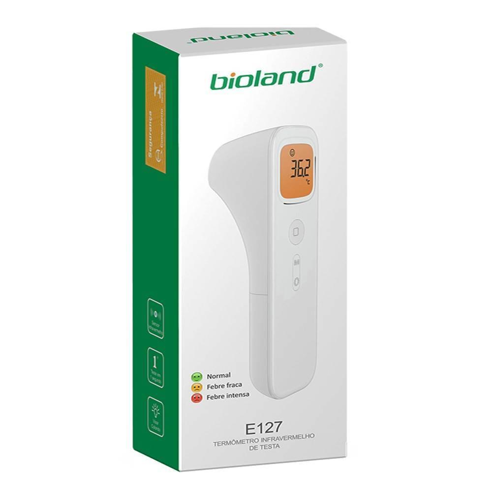 Termômetro Clinico Digital Testa s/contato Bioland Mod. E127  - Soft Care Produtos Médicos