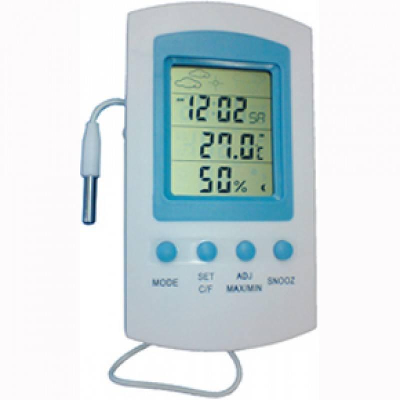 Termo Higrômetro Digital c/Cabo SH122 JPROLAB  - Soft Care Produtos Médicos