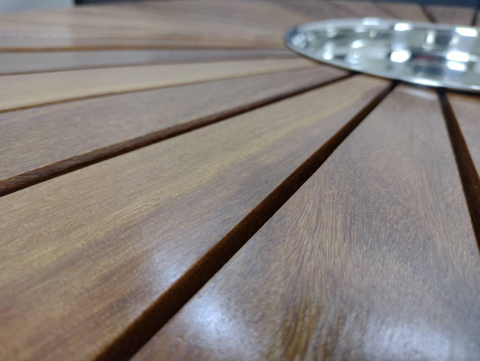 Conjunto de sofá Bahia com champanheira em madeira Cumaru - Deck & Decor