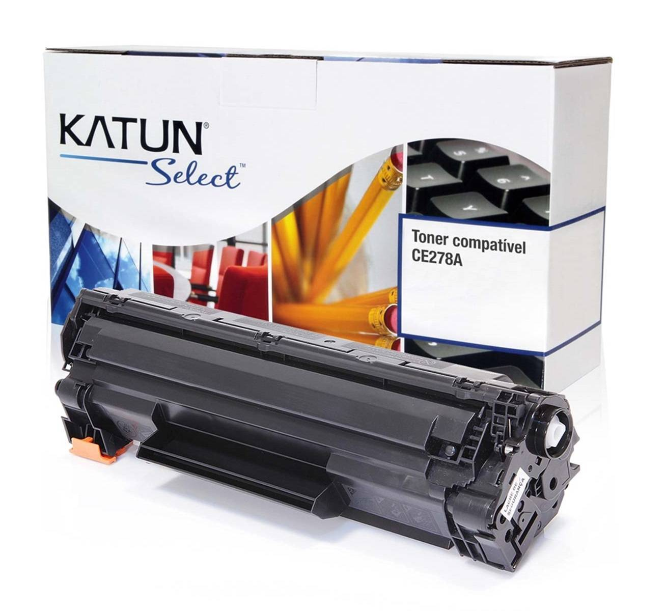 CARTUCHO DE TONER PRETO PARA HP LJ P1606 / CE278A KATUN SELECT 2.1K - PRINTER DO BRASIL