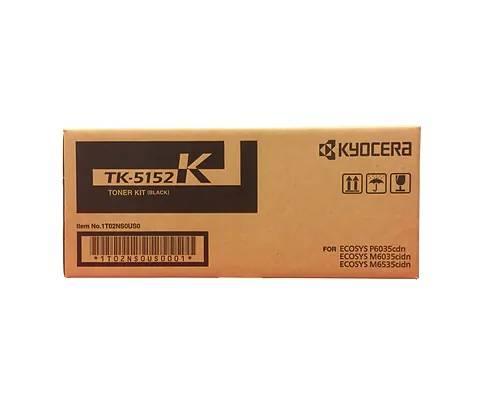 CARTUCHO DE TONER BLACK PARA IMPRESSORA KYOCERA ECOSYS P6035 / M6035 - TK-5152K ORIGINAL - PRINTER DO BRASIL