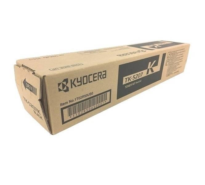 CARTUCHO DE TONER PRETO PARA IMPRESSORA KYOCERA TASKALFA 356ci - TK-5207K ORIGINAL - PRINTER DO BRASIL