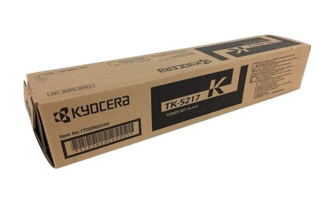 CARTUCHO DE TONER PRETO PARA IMPRESSORA KYOCERA TASKALFA 406ci - TK-5217K ORIGINAL - PRINTER DO BRASIL