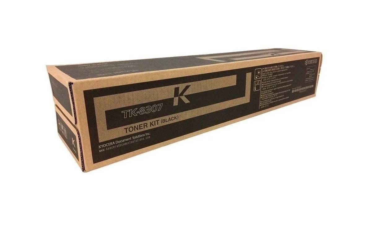 CARTUCHO DE TONER PRETO PARA IMPRESSORA KYOCERA TASKALFA 3050ci/ 3550ci - TK-8307K ORIGINAL - PRINTER DO BRASIL