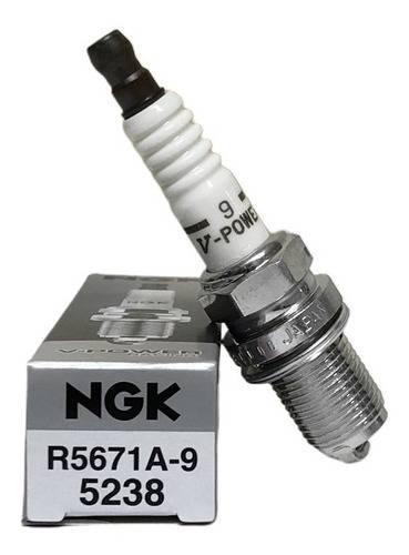 VELA IGNIÇÃO R5671A-9 NGK V-POWER GRAU 9 - EVOLUTION PERFORMANCE