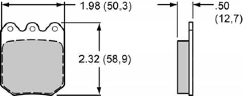 PASTILHA DE FREIO WILWOOD 150-9764 - EVOLUTION PERFORMANCE