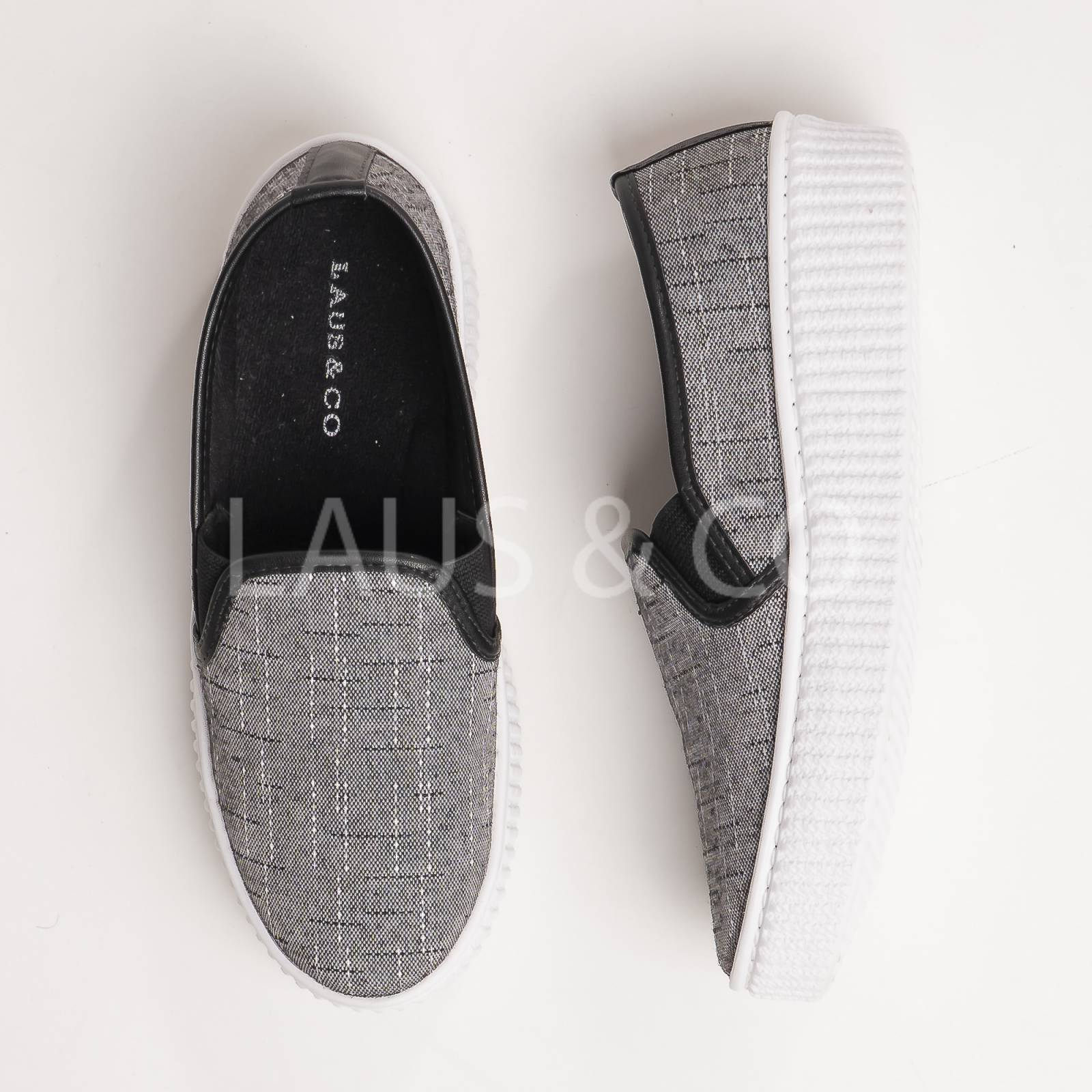 Slip-On Sola Tratorada Linho Vancouver - LAUS & CO