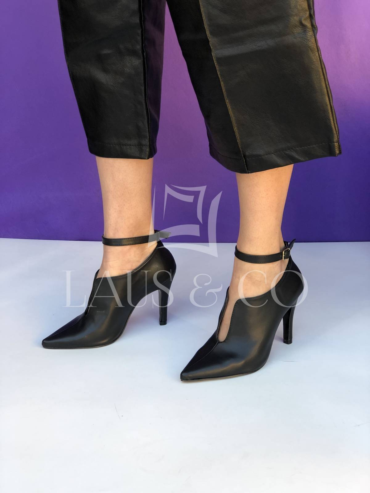 Ankle Boot Black - LAUS & CO