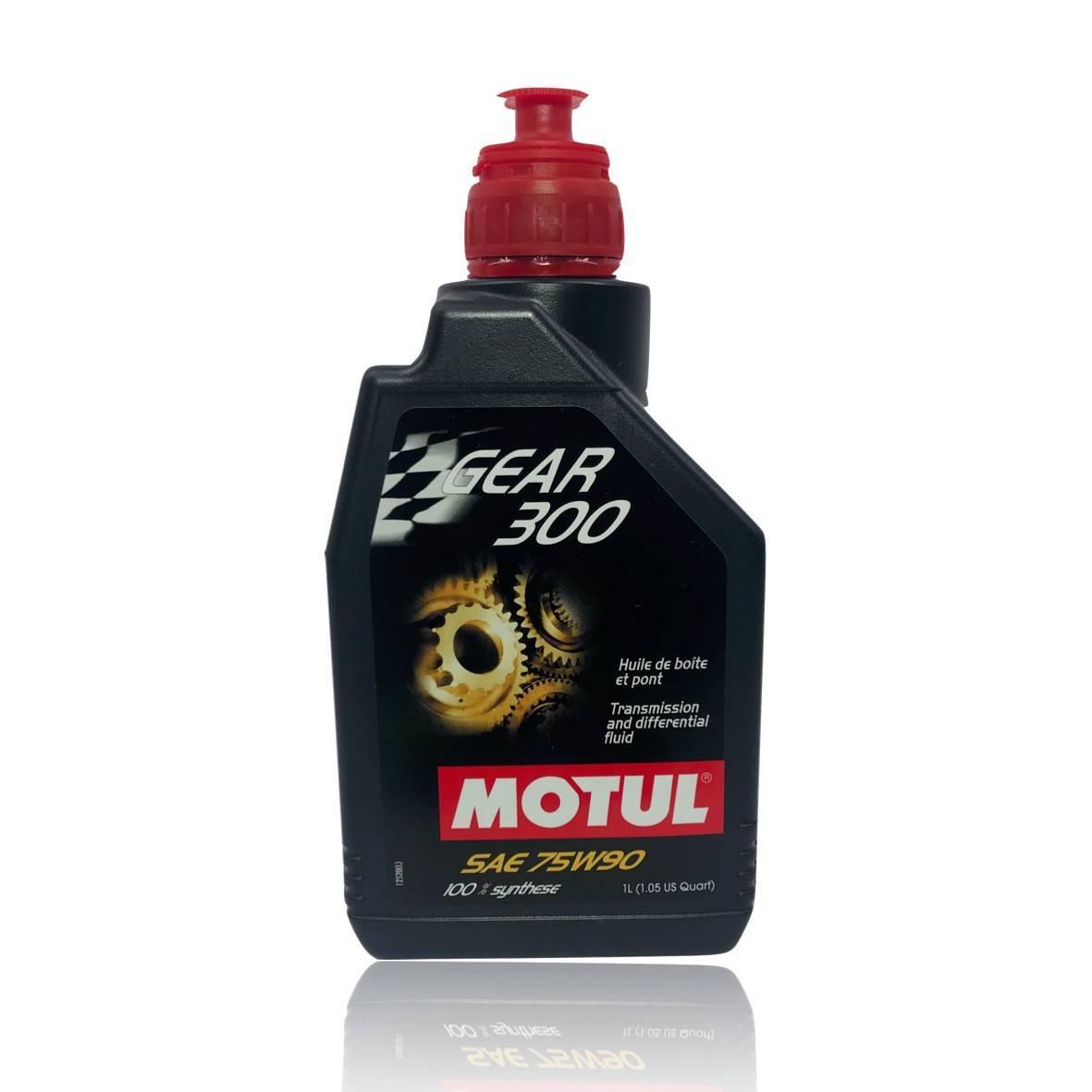 Gear 300 75W90 - API GL-4/GL-5 - 1 litro - PerformanceLUB Lubrificantes Premium