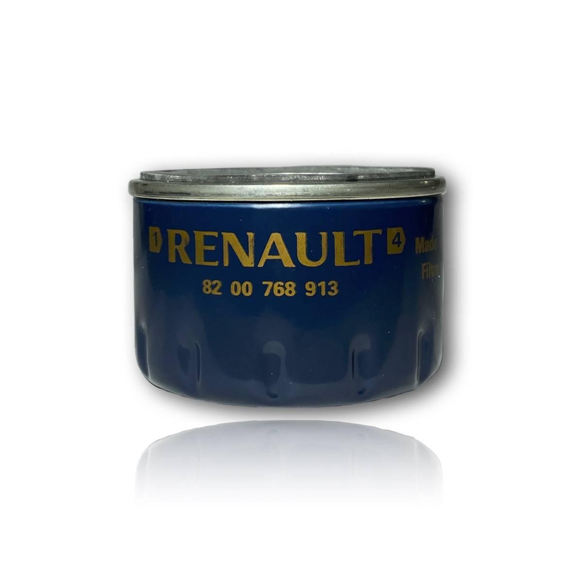 Filtro de óleo do motor - Renault motor F4R - 82 00 768 913 - PerformanceLUB Lubrificantes Premium