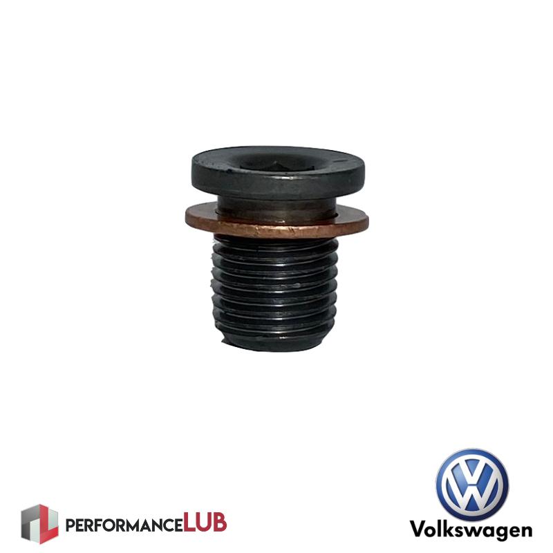 Parafuso + anel de vedação do cárter - Volkswagen - N90.856.001 - PerformanceLUB Lubrificantes Premium