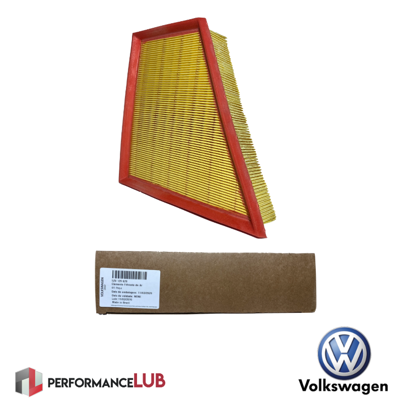Filtro de ar do motor - Volkswagen - 5Z0.129.620 - PerformanceLUB Lubrificantes Premium
