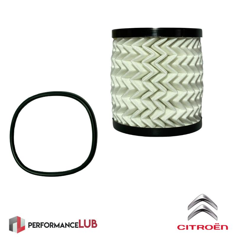 Filtro de óleo do motor - Citroën DS3 1.6THP - 9818914980 - PerformanceLUB Lubrificantes Premium